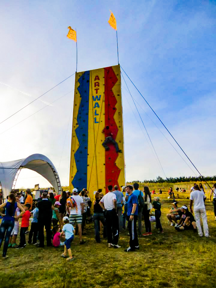 Artwall at Gustar Music Festival 2015