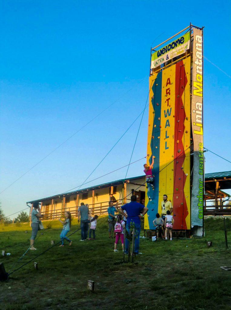 Artwall at Vatra Ethno-Cultural Festival 2015