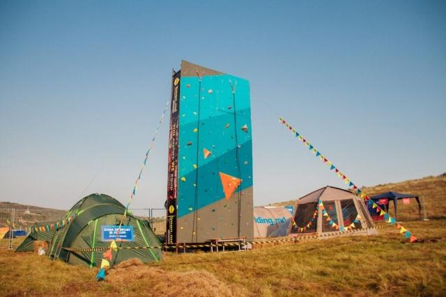 Outdoor village at Gustar Music Festival 2017